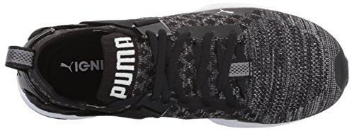 Puma Donna Ignite Evoknit Lo Wn Sneaker Puma Nero-silenzioso Ombra-puma Bianco