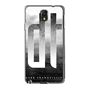 Samsung Galaxy Note3 Shi5655NIEa Customized HD Dark Tranquility Band Pictures Durable Cell-phone Hard Covers -TammyCullen