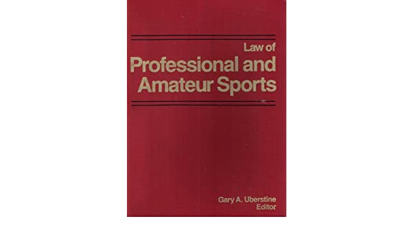 Amateur professional Law of sports and