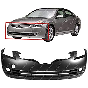 amazon com mbi auto primered, front bumper cover for 2007 2008mbi auto primered, front bumper cover for 2007 2008 2009 nissan altima sedan,
