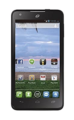 """Alcatel Onetouch Sonic LTE 4.6"""" Android Prepaid Phone with Triple Minutes (Tracfone) ..."""