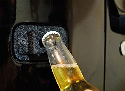 factory license plate delete plug bottle cap opener for