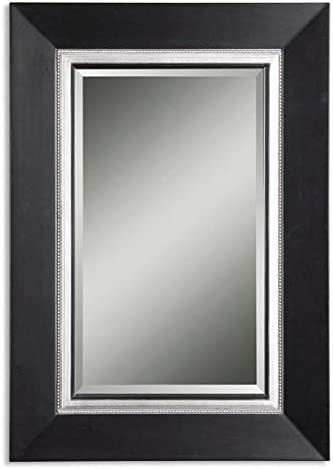Uttermost Whitmore Vanity Mirror in Matte Black