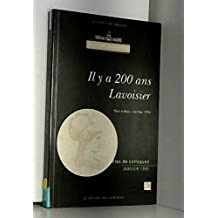 academie sciences: il y a 200 ans lavoisier