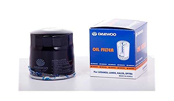 Original filtro de aceite (4 unidades) para Chevrolet Aveo ...