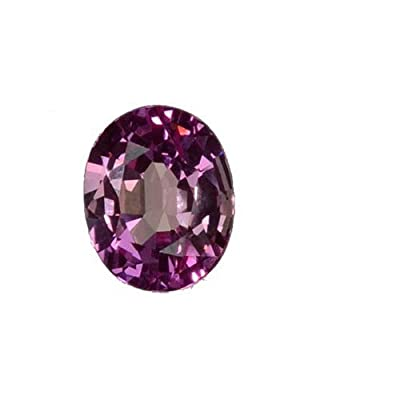 Pink Lab Sapphire Oval 12mm by uGems