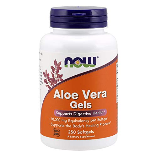 NOW Supplements, Aloe Vera 10,000 mg, 250 Softgels