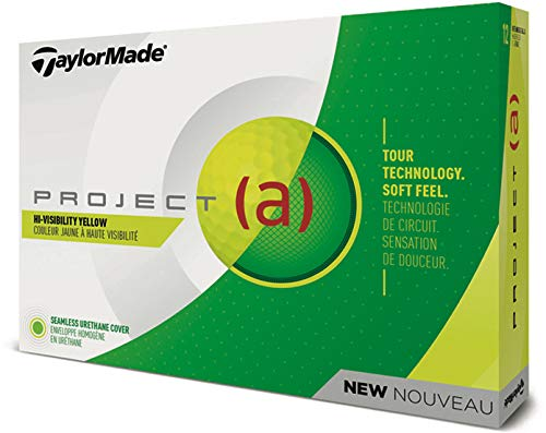 TaylorMade Project (a) Golf Balls Yellow Dozen