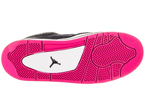 Jordan Nike Kids Air 4 Retro Gg Scarpa Da Basket Scuro Ossidiana / Oro / Rosa / Bianco