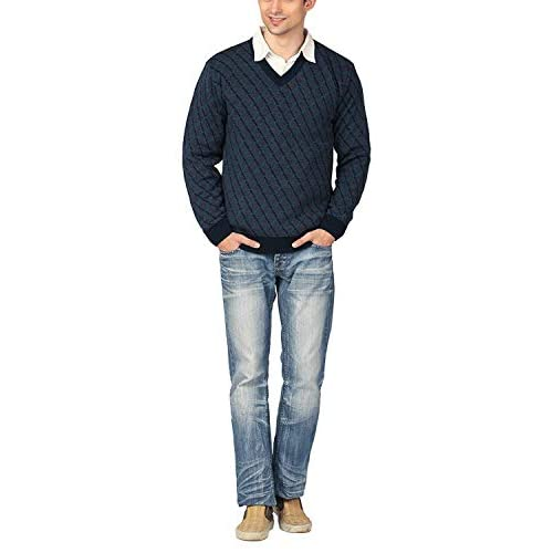 41mkjiv4i0L. SS500  - aarbee Men's Blended Sweater