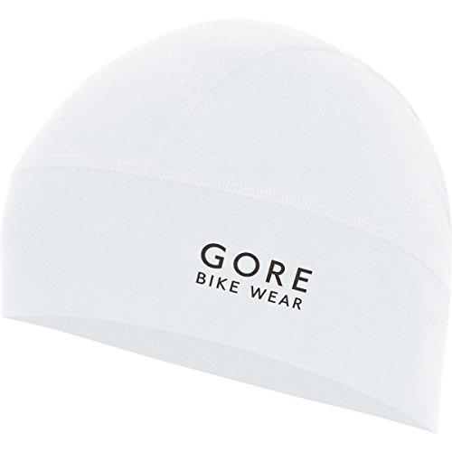 GORE BIKE WEAR Fahrrad-Helm-Mütze, GORE Selected Fabrics, UNIVERSAL Helmet Beany, Größe One, Weiß, HPOWCS