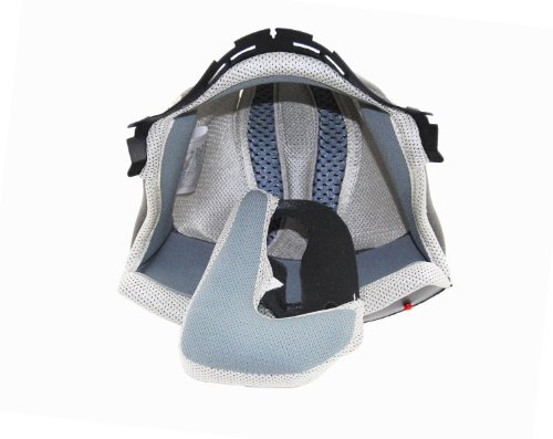(Vega Summit 3.0 Full Face Modular Helmet Replacement Liner (Cream, Small))