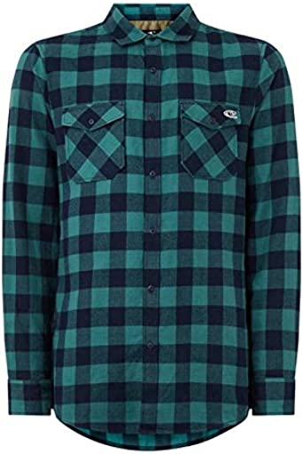 ONEILL LM Check Flannel Shirt Camisa Hombre Hombre