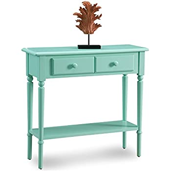 Amazon Com Leick Coastal Narrow Hall Stand Sofa Table