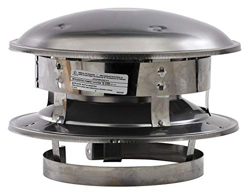 Selkirk Metalbestos Chimney - Selkirk Metalbestos 6T-CT 6-Inch Stainless Steel Round Top