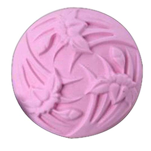 Circle Orchids Soap Mold
