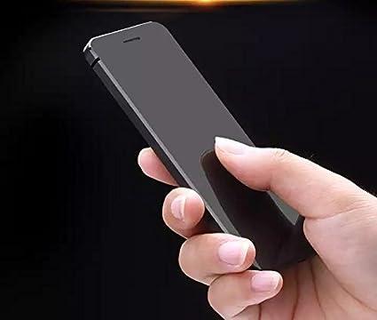 c0c51cb1cf5e78 Ulcool V36 BLACK Ultrathin Full Metal Body 500mah Big Battery OLED  Sensitive Touch Screen Credit Card