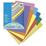 Pacon Array Card Stock 8.5x11-Inch, 10 Color, 100-Sheet (101169)