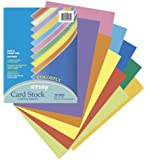 Pacon Card Stock, 8 1/2 inches by 11 Inches, Colorful Assortment, 100 Sheets (101169)
