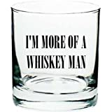 """Ron Swanson Whiskey Glass """"I'm More of a Whiskey Man"""" inspired by Parks and Recreation"""