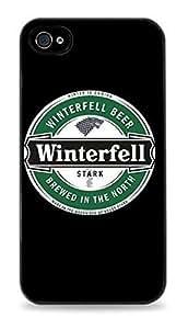 Game of Thrones Stark Winterfell Beer Black Hardshell Case for iphone 6 4.7- 416