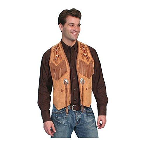 [スカーリー] メンズ ベスト Handlaced Bead Trim Vest 755 [並行輸入品] B07DHJRX3T 44