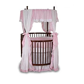 Angel Line Round Crib Bedding