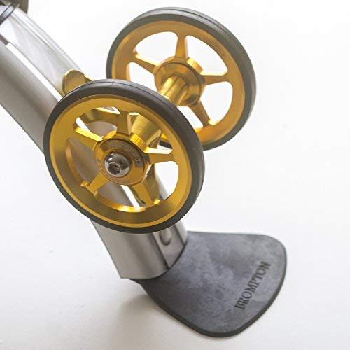 Ace Doppel Schutzblech Roller für Brompton Leicht Gold