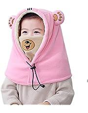 TRIWONDER Balaclava Hat for Kids Face Mask Neck Warmer Thermal Fleece Winter Ski Mask Full Face Cover Cap