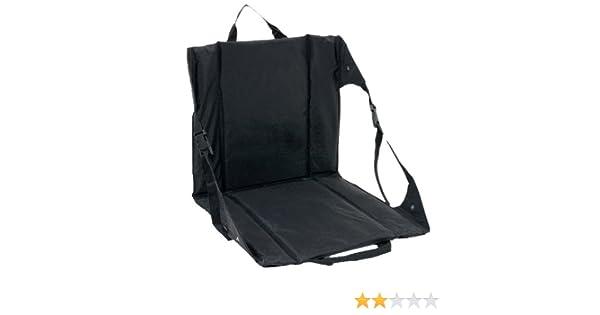 Sensational Amazon Com Outbound Lounge Lizard Sport Seat Black Small Customarchery Wood Chair Design Ideas Customarcherynet