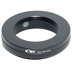 Vibesta LMA TM TM EOS lens adapter Lens (T Mount Lens, Telescopes) to Canon EOS EF camera adapter adapter ring (from KIWIfotos)