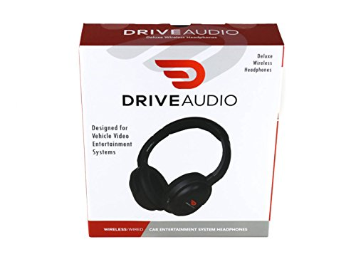 Premium Headphones by Drive Audio for Chrysler, Dodge, Ram, Jeep & Volkswagen - Fits Car Part # 05091149AA & Part # 05064073AE by DRIVE AUDIO (Image #2)