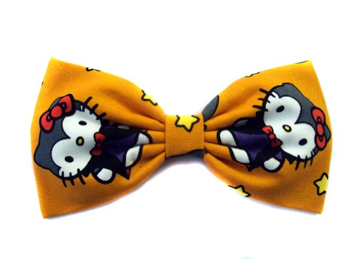 Hello Kitty Collection-hair Bows for Girls, Teens, Gifts for Her. (Vampire Kitty, Barrette)