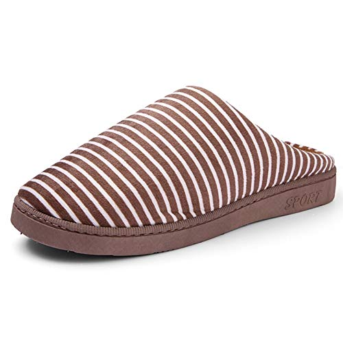 Pantofola Cotone Scarpe Home Antiscivolo Caldo Autunno Casa Al Coppia Morbido Ciabatte Coperta Tenere Pantofole Lebao E Pattini Peluche Per Cotone Inverno Brown Fondo 5qEnwE8r