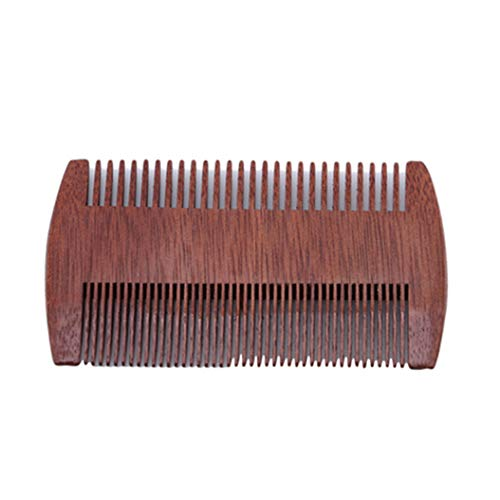 LZIYAN Densities Teeth Wooden Hair Comb Anti-Static Double Tooth Comb Portable Straight Hair Comb For Men And Women by LZIYAN (Image #1)