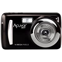 Acuvar 14MP Megapixel Compact Digital Camera and Video with 2.4 Screen with Easy Editing Software CD