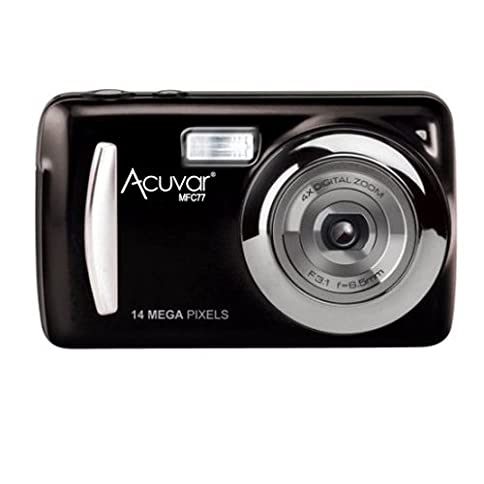 - 41mkpGg372L - Acuvar 14MP Megapixel Compact Digital Camera and Video with 2.4″ Screen and USB Cable