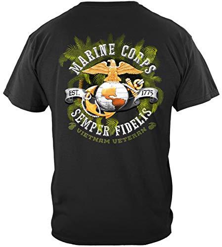 Erazor Bits Marine Polo Shirts | USMC Vietnam Vet T Shirt ADD-MM113XL