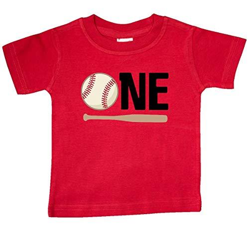 inktastic 1st Birthday Baseball Boys First Baby T-Shirt 12 Months - Shirt First Baseball