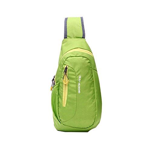 JOTHIN Oxford Tuch Brust Tasche Busen Freizeittasche Für Outdoor-Aktivitäten Schwarz/ Rote /Orange/ Pfauenblau/ Blau/ Grün