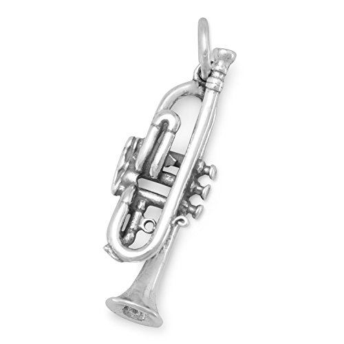 Sterling Silver Trumpet - 3