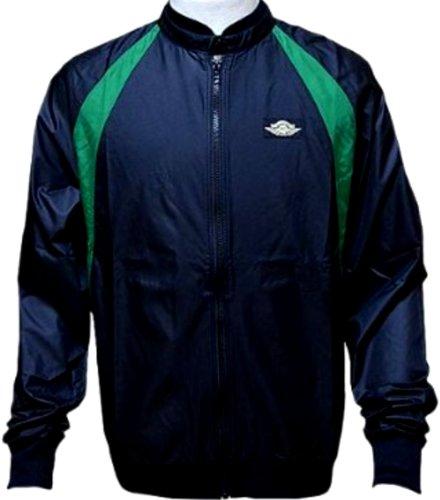 ade88c3d405b Jordan Nike Men s AJ1 Muscle Wind Break Jacket Black Green Metallic Gold  558840-010 - Buy Online in UAE.