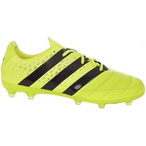 adidas Performance Mens ACE 16.2 FG Leather Football Boots -11.5