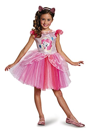 My Little Pony Pinkie Pie Costume (Pinkie Pie Tutu Deluxe My Little Pony Costume, Small/4-6X)