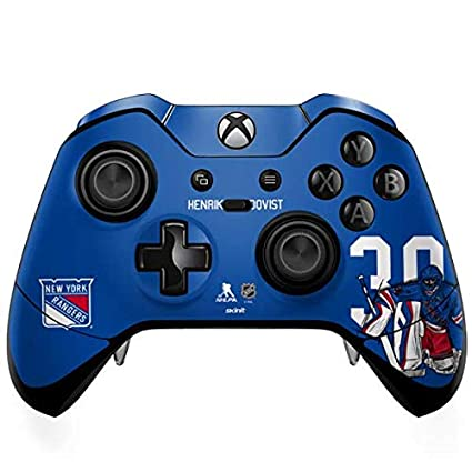 Amazon Com Skinit Henrik Lundqvist 30 Action Sketch Xbox One Elite