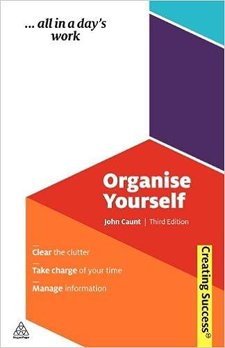 Organise Yourself John Caunt Download