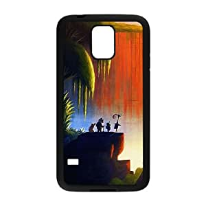Up Disney Art Samsung Galaxy S5 Cell Phone Case Black phone component RT_416243