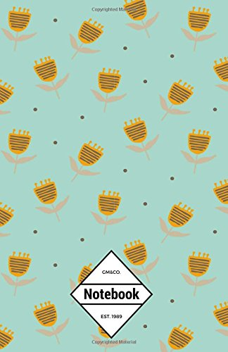"""GM&Co: Notebook Journal Dot-Grid, Lined, Graph, 120 pages 5.5""""x8.5"""": Baby Honey Bee Flowers pdf"""