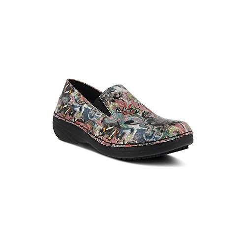 Spring Step Womens Manila Work Shoe Black Multi Paintpot gLuu4