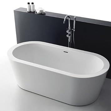 vasca da bagno freestanding santorin
